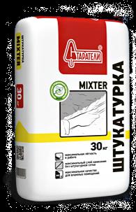 Штукатурка MIXTER Старатели, 30 кгШтукатурки<br>Штукатурка MIXTER используется для влажных помещений.<br>